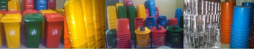 Tong Sampah - Tong Sampah Fiberglass - tempat sampah pilah / standing astray / tong sampah stainless