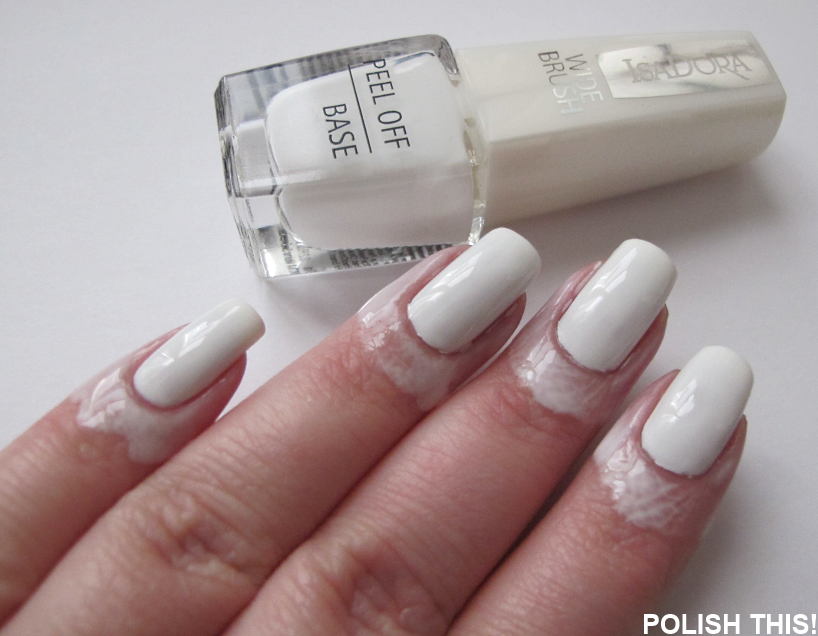 Quick Tutorial: Another Use For Peel Of Base Coat - Polish This!