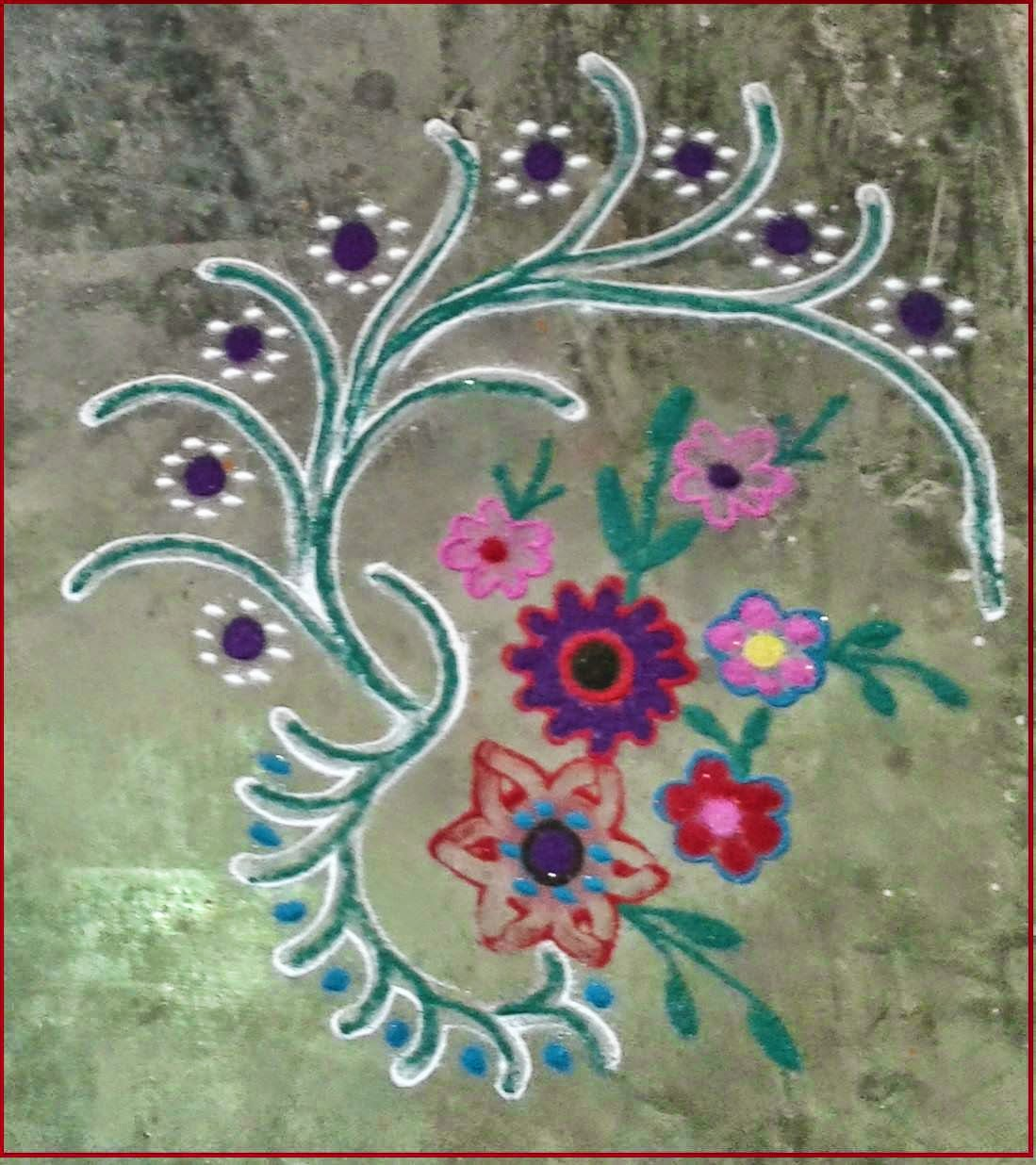 Kids Rangoli Designs 20