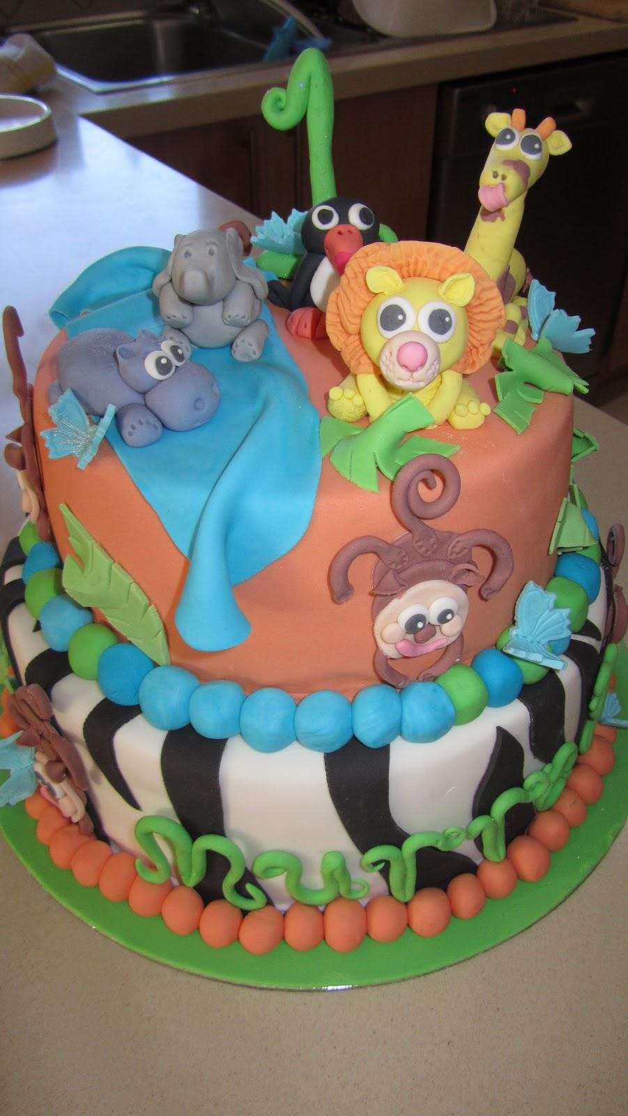 Murrays 1st Birthday Cake Cheeky Pantry