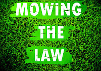 image of mowing the law