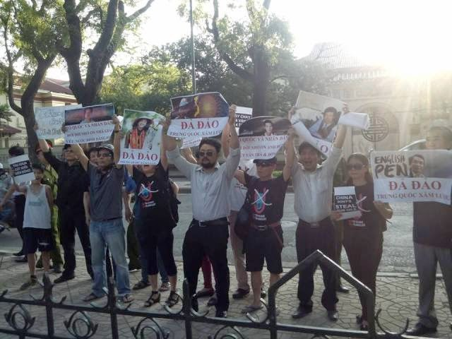 10245560 268341493345176 7702318009128157948 n Preview of Anti China Protest in Front Of Chinese Embassy in Hanoi