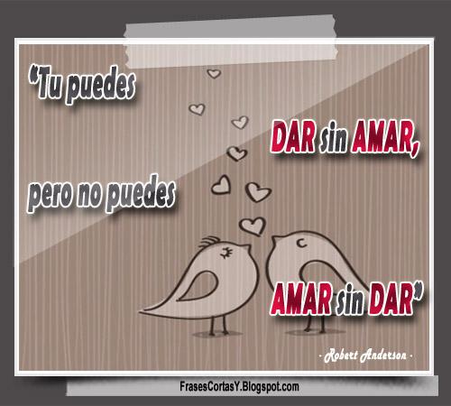 Amar y Dar