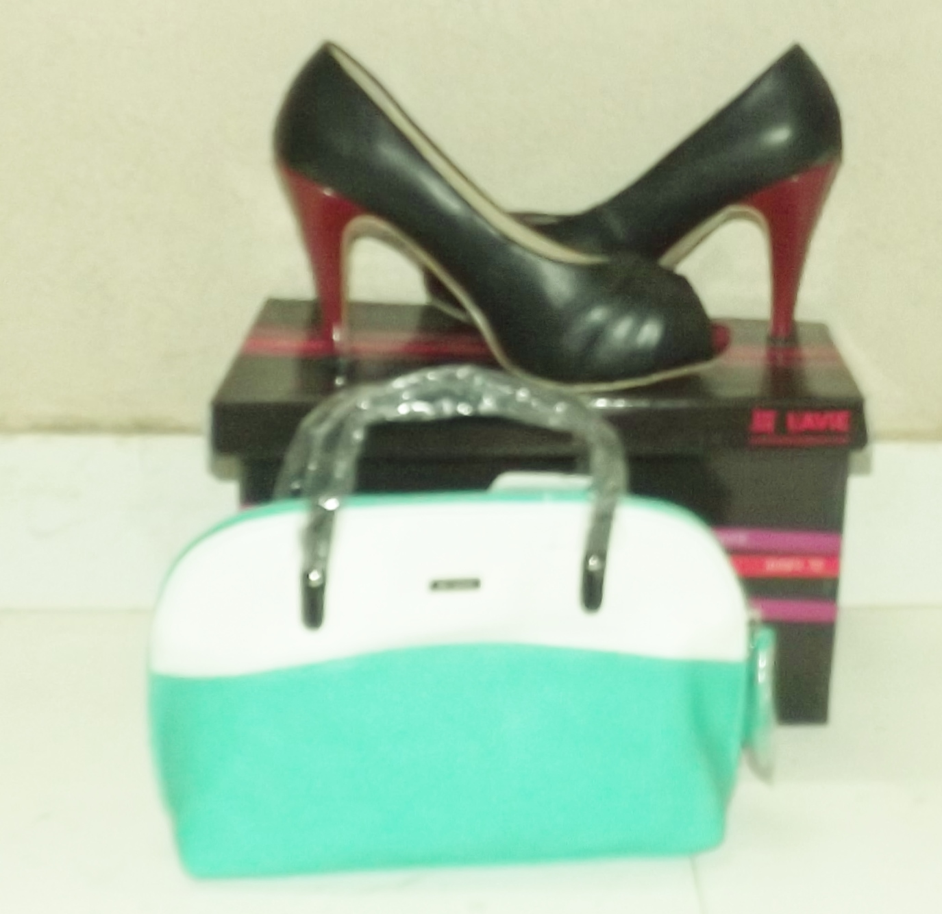 black pumps from shoppers stop