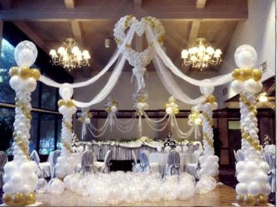 Balloon decorating secrets be your own balloon decorator for Balloon decoration for weddings