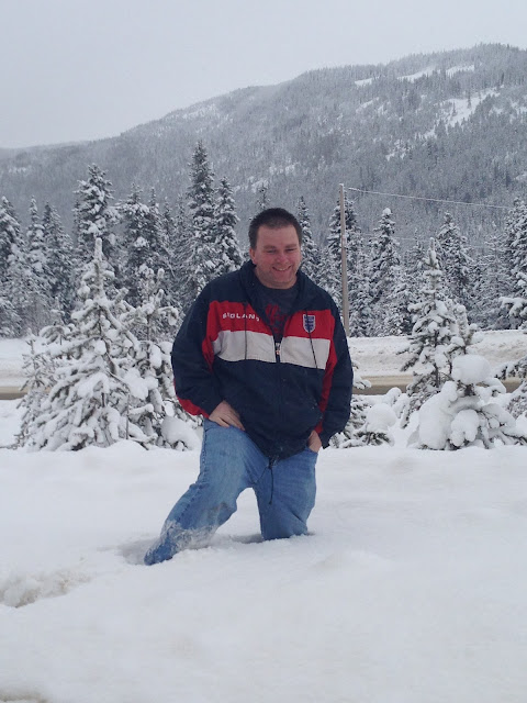 Coquihalla summit deep snow