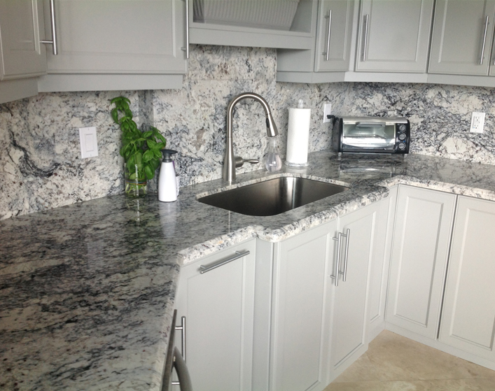 Kitchen Gray Granite Countertops : Foundation dezin decor granite kitchen beauty grace