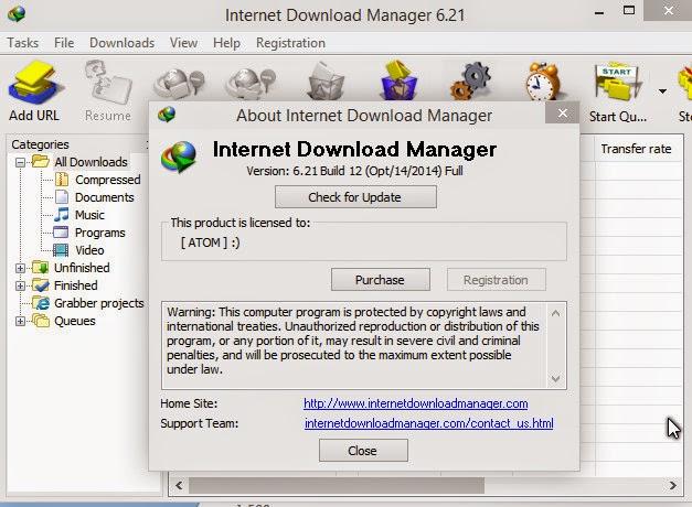 Internet Download Manager 6.21 Build 12 Final Internet Download Manager 6.21 Build 12 Final Ashampoo Snap 2014