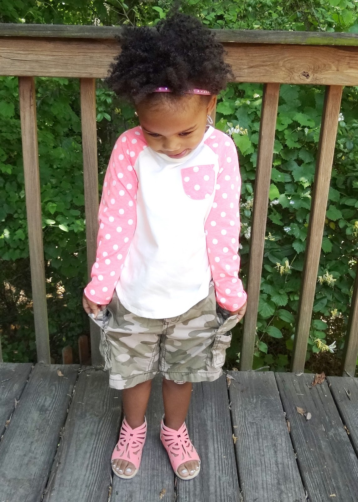 camo shorts for little girls