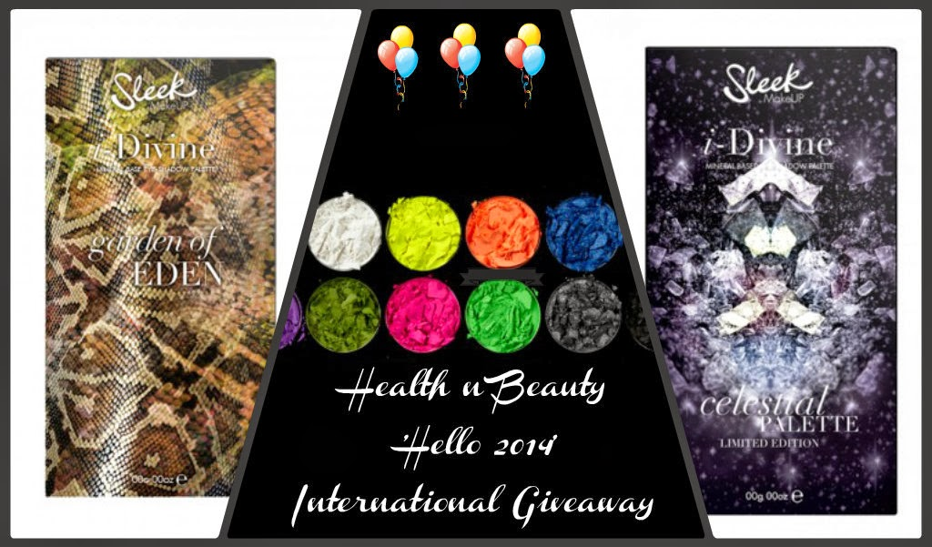 'Hello 2014' International Giveaway is ON