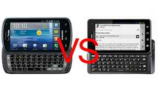 Samsung Stratosphere vs Droid 3