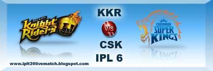 IPL 6 KKR vs CSK Full Highlight Match and KKR vs CSK Wickets Highlight
