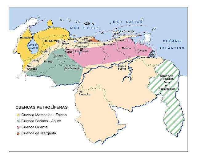 Imágenes del mapa de Venezuela y sus límites - Imagui