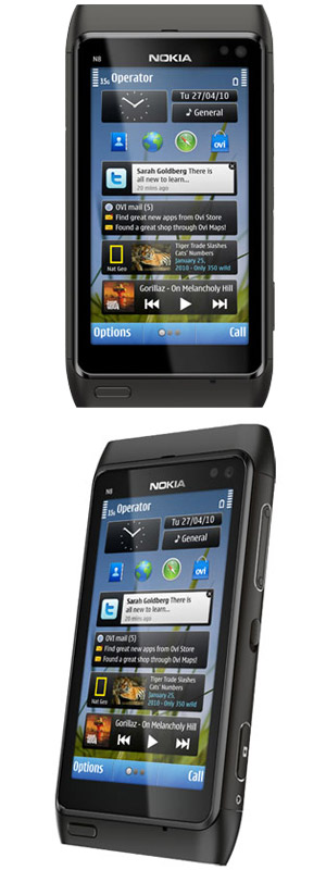 the nokia n8 is described by nokia as the ultimate social smartphone ...