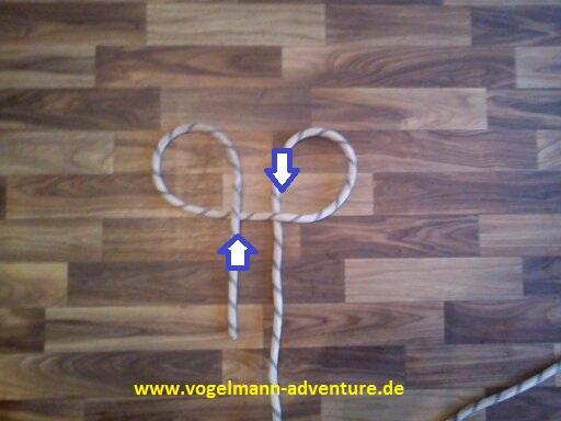 Sicherung Knoten HALB-MASTWURF-SICHERUNG - 2