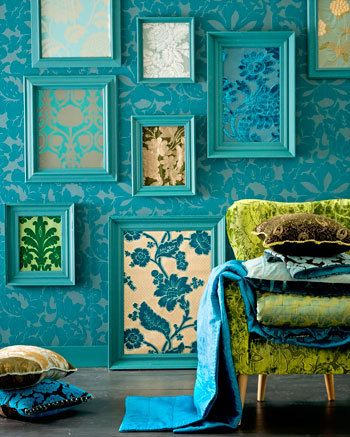 decoracion turquesa
