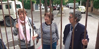 Movilización vecinal contra el cierre del Pasaje de Bellas Vistas
