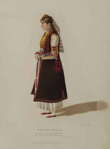 Albanian female(Greece)
