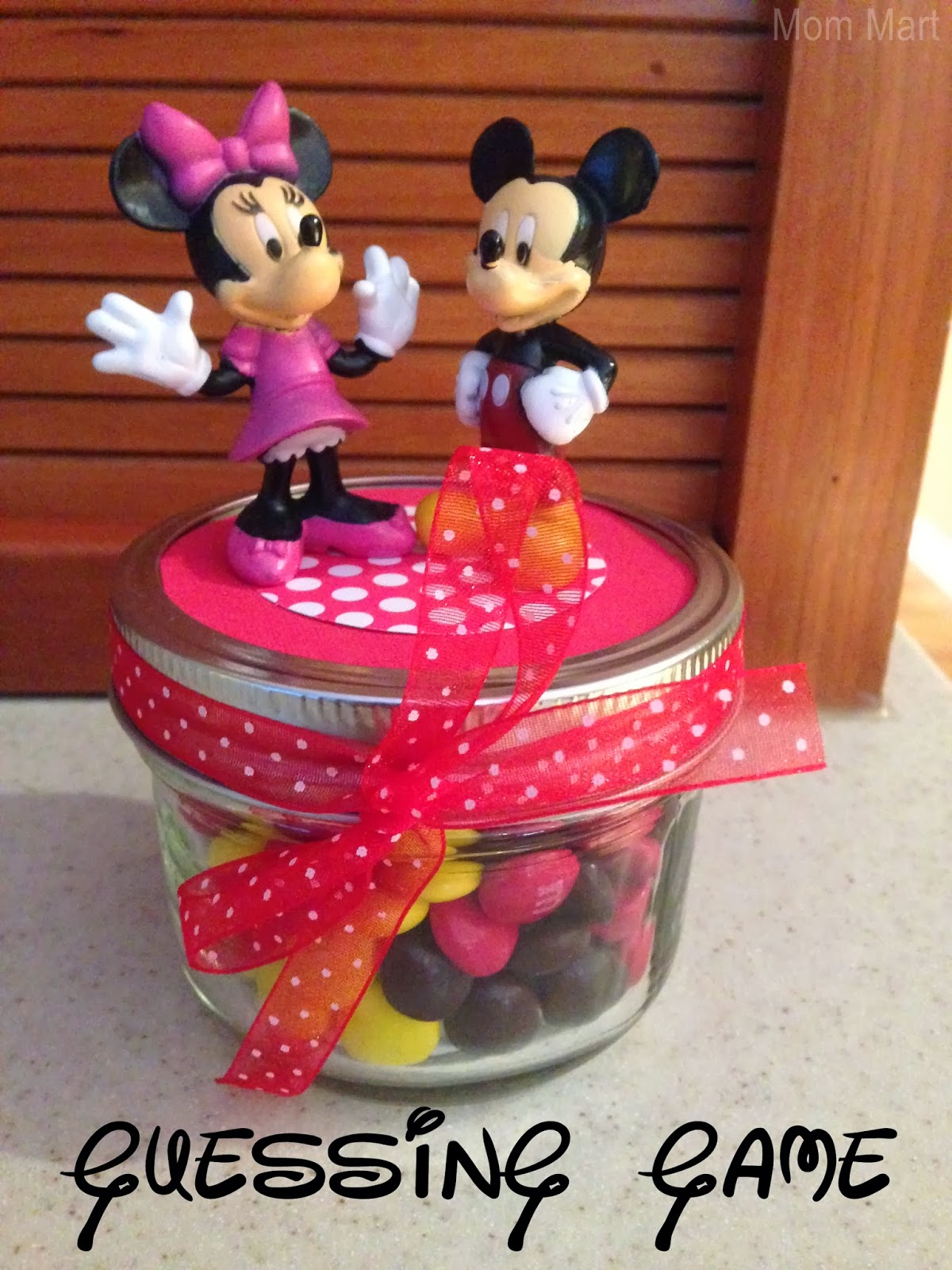Minnie Mouse Themed Birthday Party Games - Guessing Game