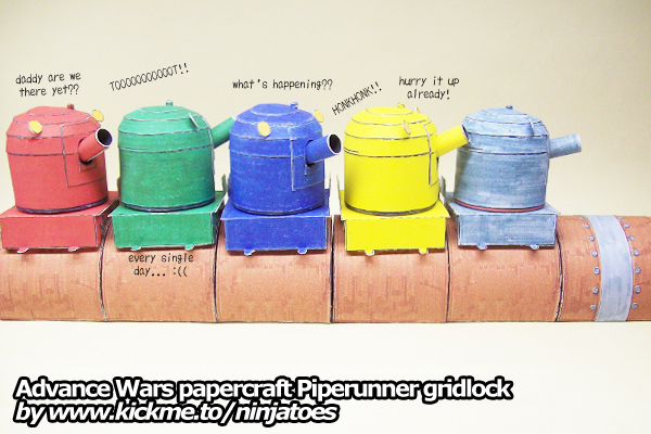 Piperunner Papercraft