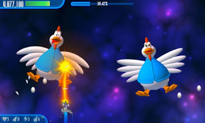 Chicken Invaders 3 PC Games Gameplay