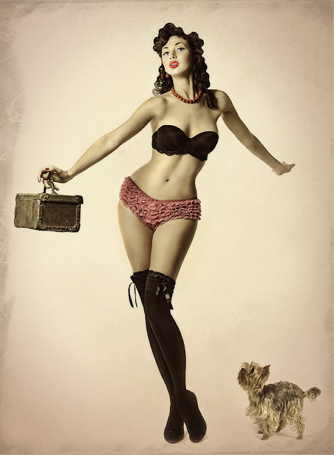 Pin Up Photos by Ludmila Yilmaz