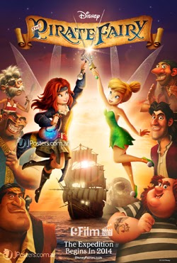Tinker Bell And The Pirate Fairy 2014 poster