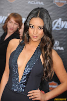 Shay Mitchell Marvel's The Avengers Premiere El Capitan Theatre Los Angeles