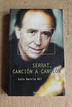 """Libro dedicado a Serrat- """"Serrat, canción a canción"""" (2004)"""