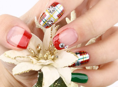 Christmas Nail, Christmas Nail Art, Christmas Nails