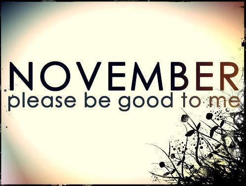 VioletRose Story: Goodbye October.. November Please be Nice