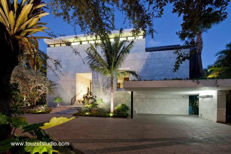 Residencia contemporánea en Coral Gables, Miami 2012