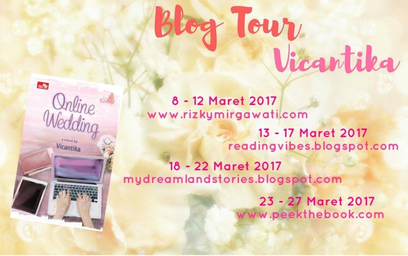 Blog Tour #OnlineWedding 13 Maret - 17 Maret 2017