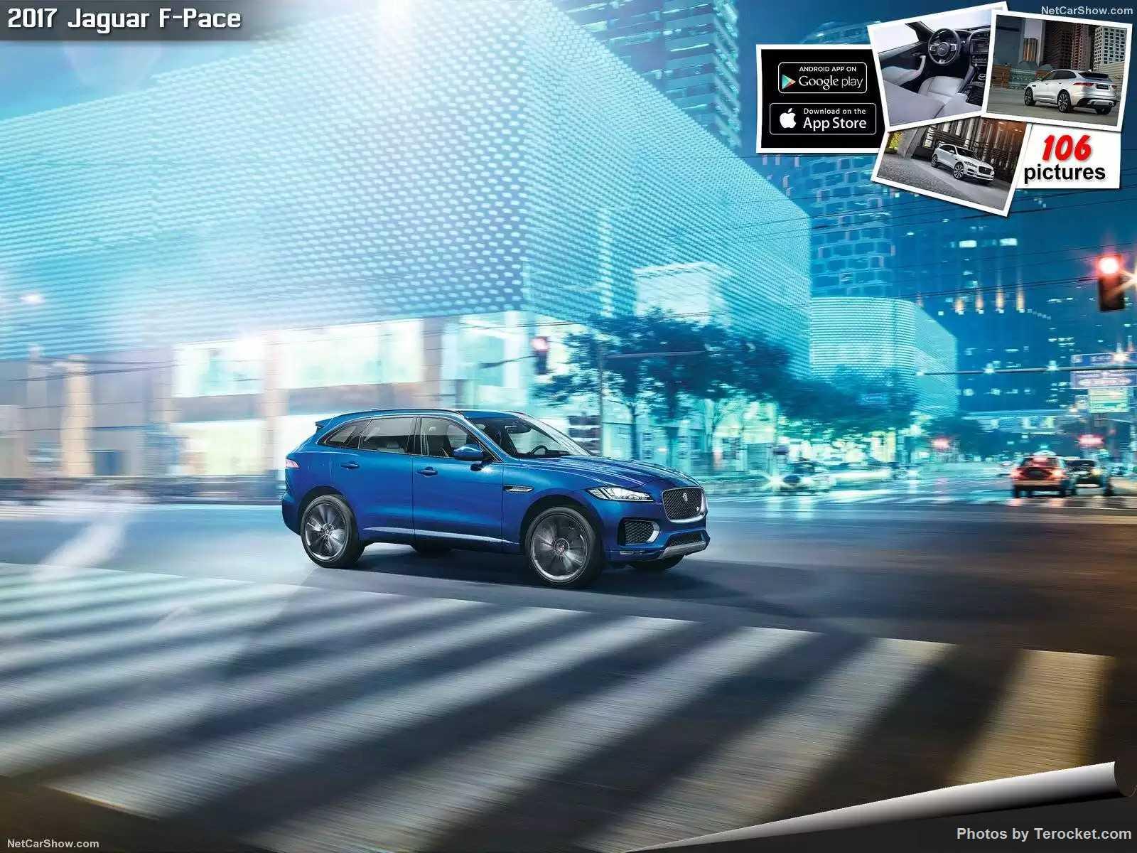 Hình ảnh xe ô tô Jaguar F-Pace 2017 & nội ngoại thất