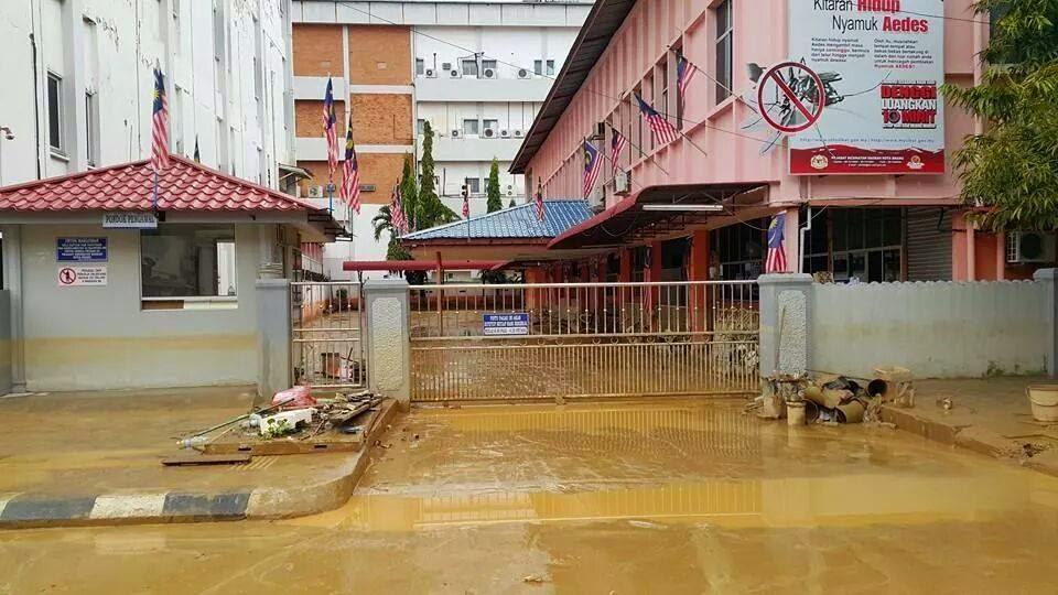 TERKINI Gambar Selepas Banjir Di Kelantan 30 Disember 2014