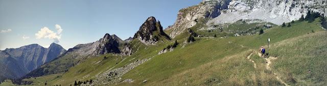 trail dans les Bauges autour de l'Arcalod