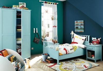 Dormitorio temático niño
