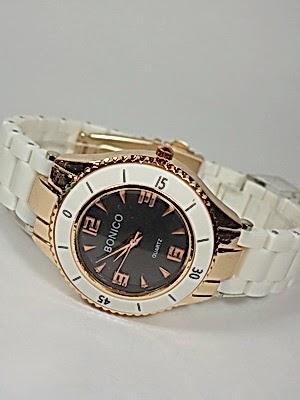 Jam Tangan Bonico MK 082 Putih Murah