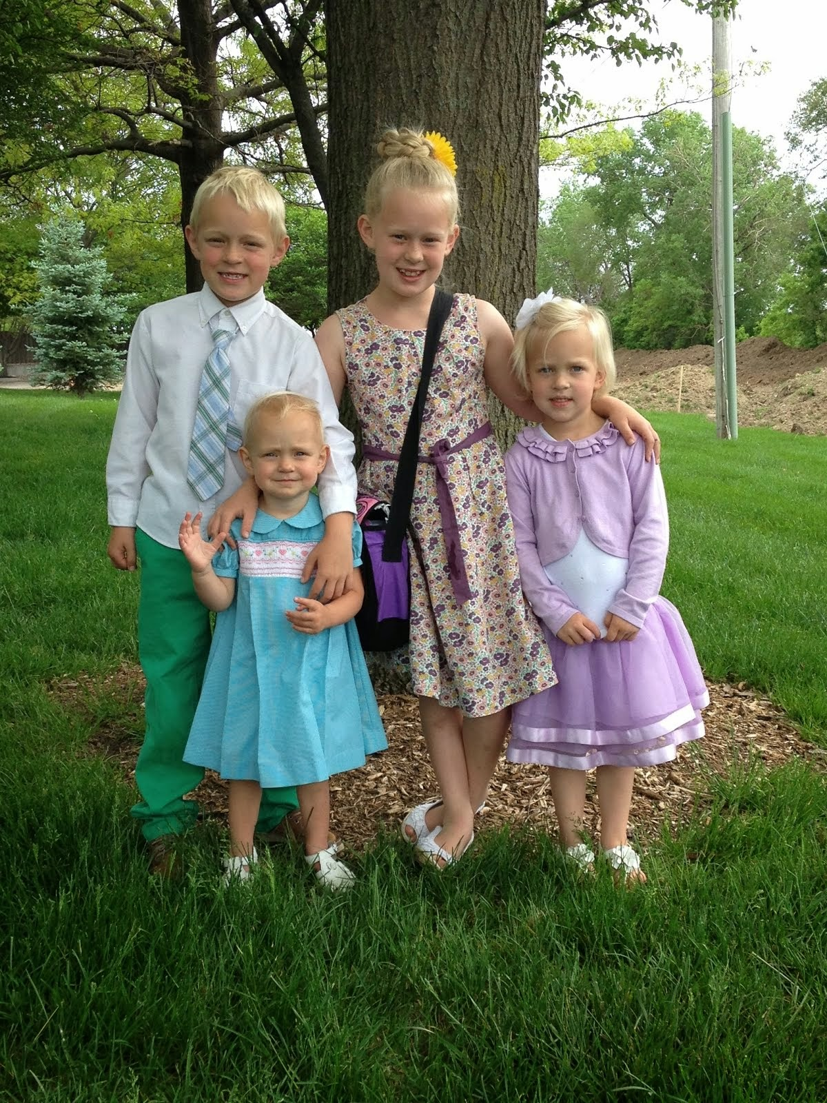 Our Four Little Munchkins