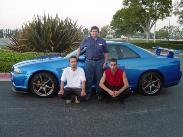 His Left Hand Drive R34