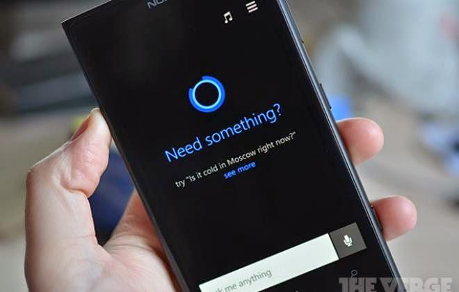 Assistente Cortana do Windows Phone