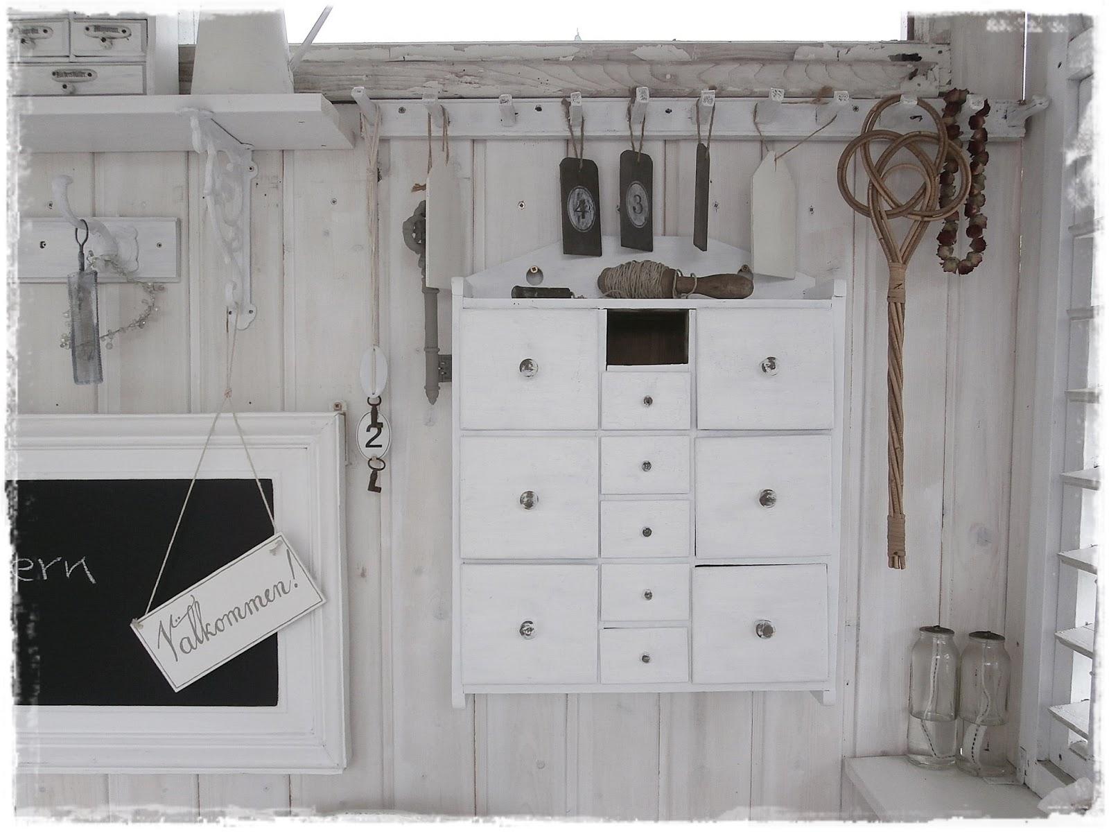 Shabby landhaus: schwarz ist das neue weiß......