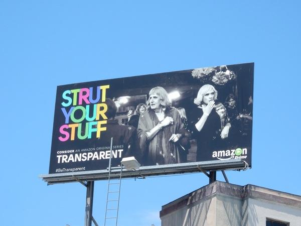 Strut your stuff Transparent 2015 Emmy billboard
