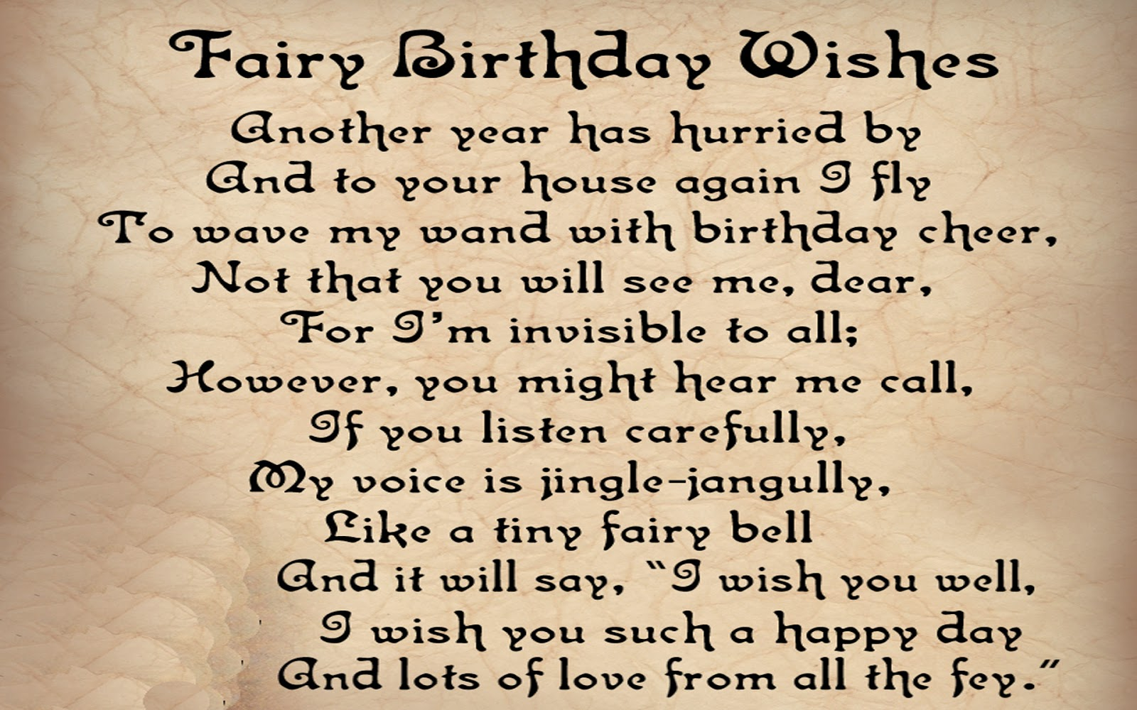 Birthday Poems For Wife With Love