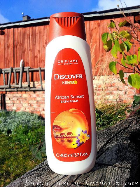 Oriflame, Discover Kenya, African Sunset Bath Foam