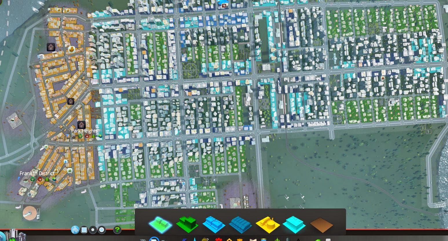 cities skylines how to make a big city