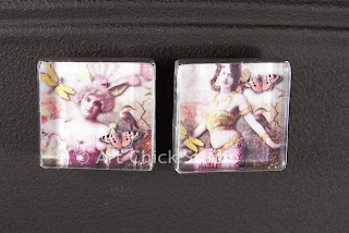 Gypsy Glass Tile Magnets 2