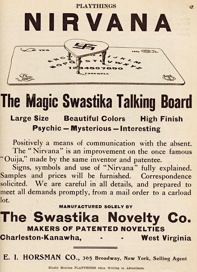Mothman Flutterings Swastika Talking Board And Spirit Board