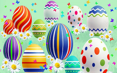 Huevos de Pascua (Wallpaper de 1920x1200) HR Easter Eggs