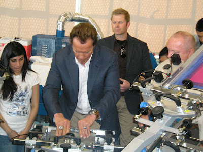 Super shop 9 print shop with Schwarzenegger